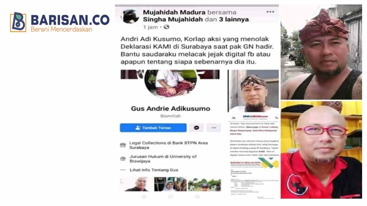 Korlap aksi KAMI Surabaya