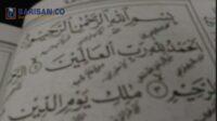 Huruf Arab Pegon