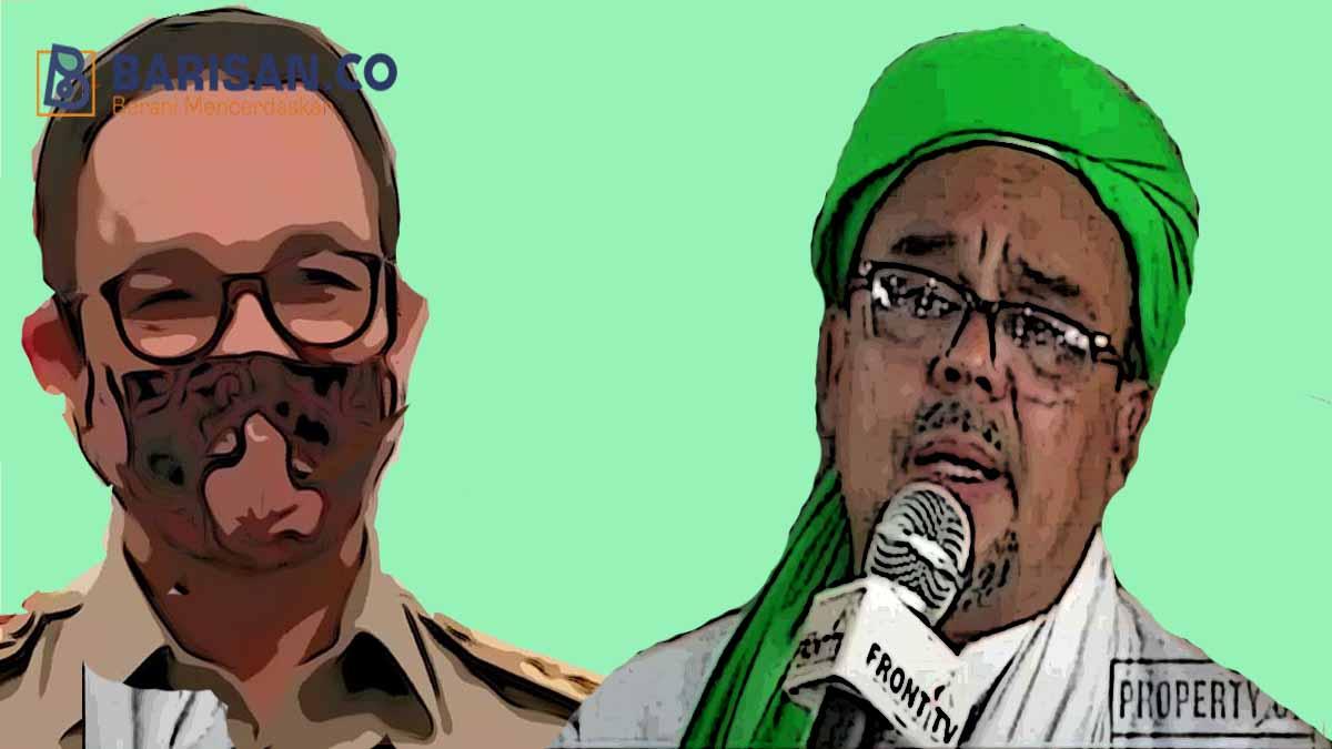Anies dan Habib Rizieq