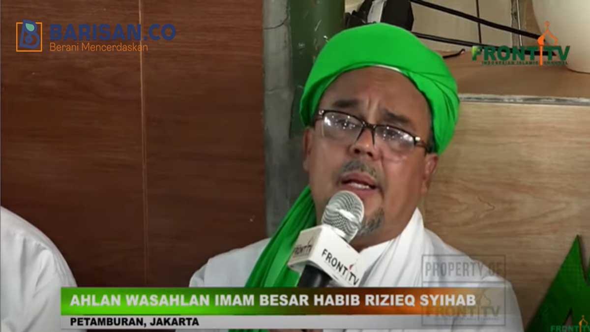 Imam Besar Habib Rizieq SyihabImam Besar Habib Rizieq Syihab